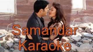 Samandar Karaoke ( Kis Kisko Pyaar Karoon ) | Dmusic Karaoke |
