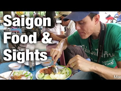 Exploring Saigon - Food, War Remnants Museum, & Ben Thanh Market