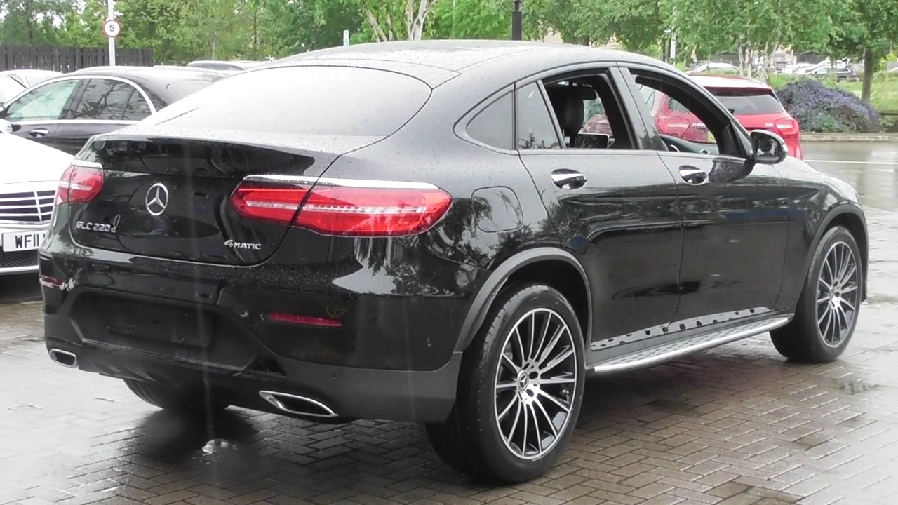mercedes benz glc class coupe glc 220 d 4matic amg line coupe u48532 youtube. Black Bedroom Furniture Sets. Home Design Ideas