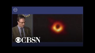 An international team of scientists used the Event Horizon Telescope to obtain the first image of a black hole. They say the image of the center of the galaxy M87 ...