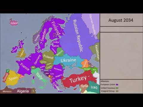 Alternative Future of Europe 13 Fall of Belgium