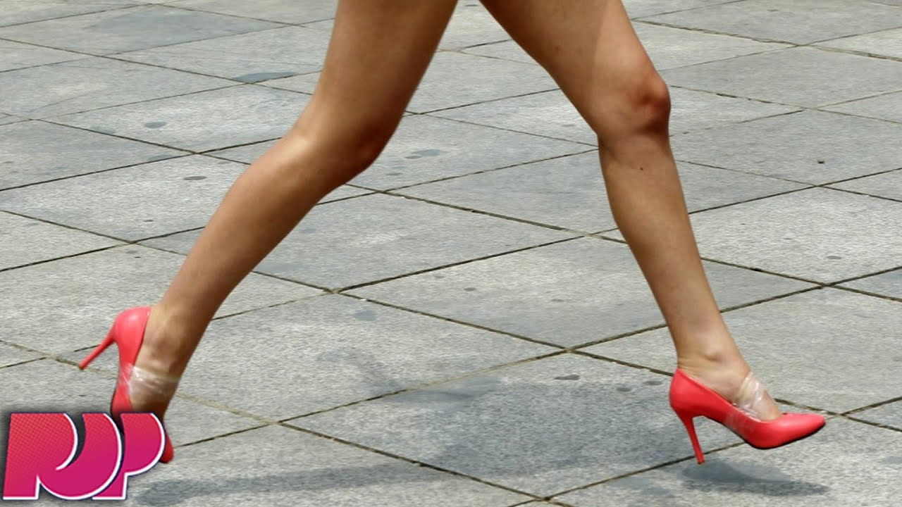 Women sex wearing stiletto heel