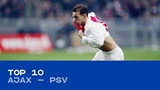 TOP 10 | De mooiste goals tijdens Ajax - PSV