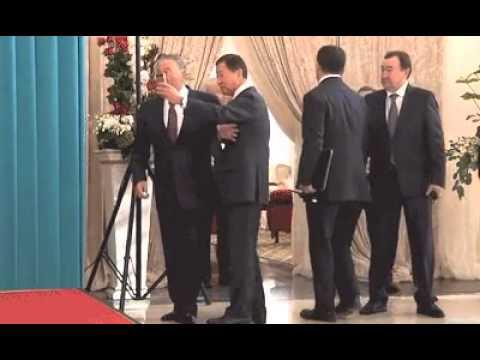 Назарбаев селфи / Nursultan Nazarbayev to refuse selfie