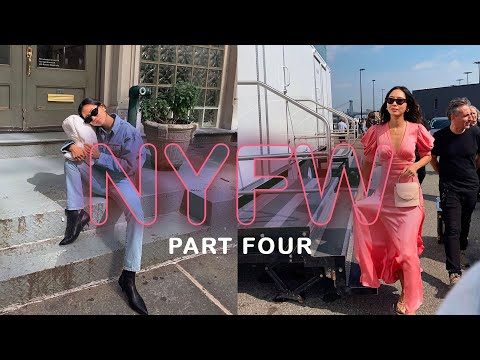 NYFW Part 4: Mental Health, Last Few Days Of NYFW! | Aimee Song thumbnail