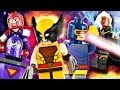 "LEGO Marvel : 76022 ""X-Men vs. The Sentinel"" - Review"