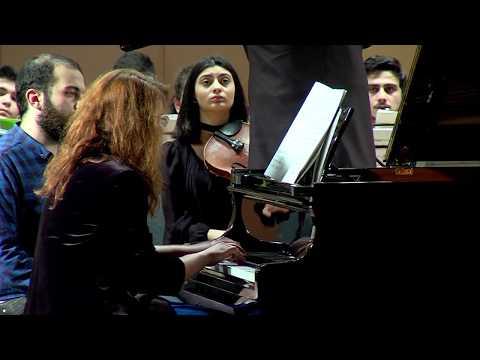 Anastasia Voltchok - Shostakovich - Piano Concerto No. 2 - MISA Youth Symphony