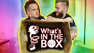 *OBRZYDLIWE RZECZY* WHAT'S IN THE BOX CHALLENGE Z CHORSMENAMI 2!