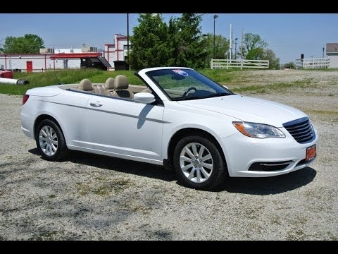 Chrysler 200 For Sale >> 2011 Chrysler 200 Touring Convertible For Sale Dayton Troy