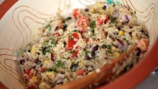 Mexican Quinoa Salad Recipe    Kin Eats