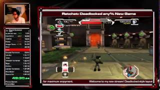 Ratchet: Deadlocked - any% Speedrun - 1:51:19 [WR]