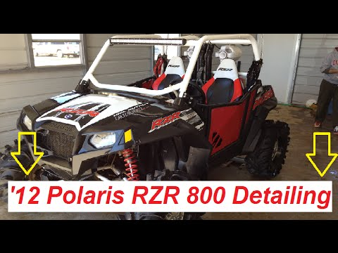 How To Take Off A Decal On A Polaris Rzr Razor 800 Doovi