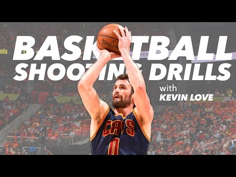 How Kevin Love Prepares for Game Situations With The Cone Hop Shooting Drill