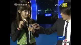 121231 Song Qian With Liu Qian (Magic Show) - SZTV New Year