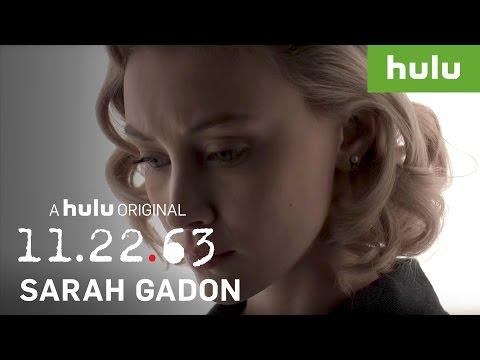 Sarah Gadon Talks About Playing Sadie Dunhill • 11.22.63 on Hulu
