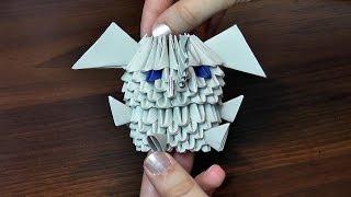 Как сделать слона (слоненка, мышь, мышку) МОДУЛЬНОЕ ОРИГАМИ