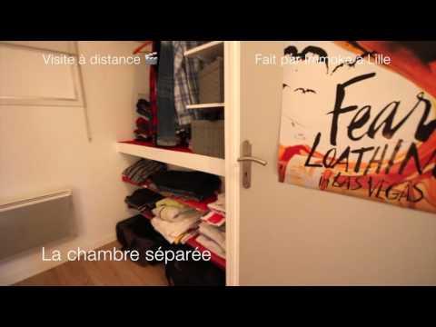 Réf DEG1 - Exclusivité Beau T2 et parking - Rdc de maison individuelle - Villeneuve d'Ascq
