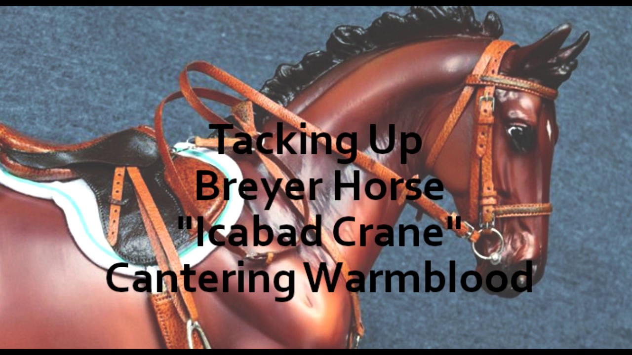 Tacking Up Breyer Horse,