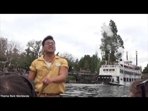 Davy Crockett's Explorer Canoes On Ride HD POV Disneyland Resort streaming vf