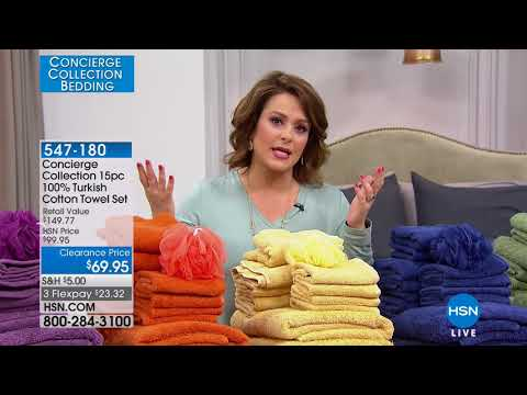 HSN | Concierge Collection Bedding 02.26.2018 - 09 AM