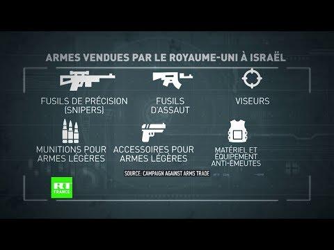 Londres condamne les violences à Gaza mais vend des armes à Israël