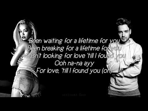 Liam Payne & Rita Ora - For You (Lyrics) (Audio Muted)