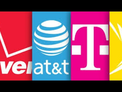 T-mobile, Sprint, verizon, at&t  ( 5G specs announced)