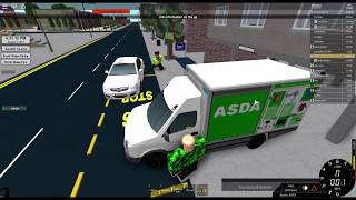 ROBLOX: South Wales Police (Civillian #3) Late for deliveries! Part two.