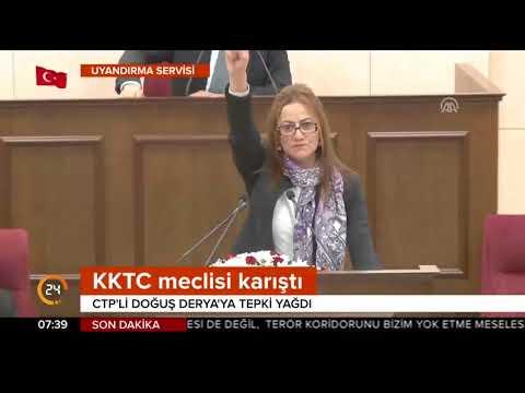 KKTC karıştı.#ZeytinDalı aleyhine paylaşım yapan Türk düşmanı KKTC'li vekil Meclis'te