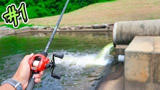 Fishing NEW PONDS for GIANT Bass Ep.1 (IT WORKED!)