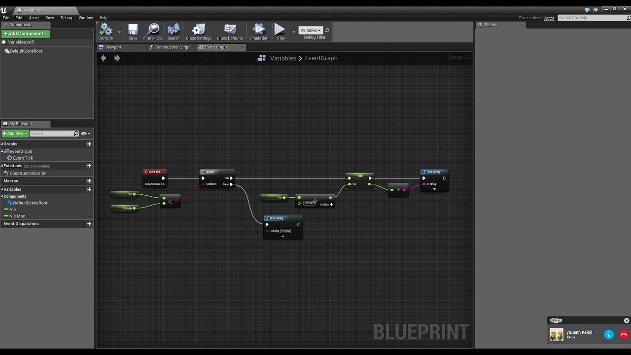 Ue4 tuto fr blueprint branch youtube ue4 tuto fr blueprint branch malvernweather Image collections