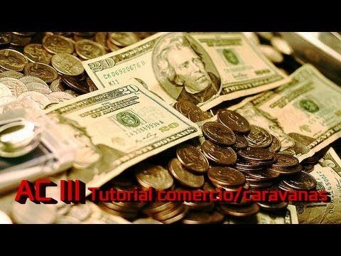 Assassin´s Creed III 3 Guía Tutorial comercio | Ganar dinero | Usar Caravanas