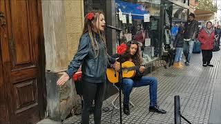 Flamenco en la calle  Cádiz