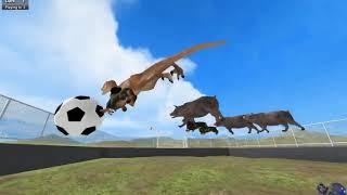 ЗВЕРИНЫЙ ФУТБОЛ - Игра Beast Battle Simulator  # Футбол динозавров и зверей