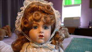 Thrift Store Find! - We found a real French Reproduction Porcelain Doll $$$ !!!