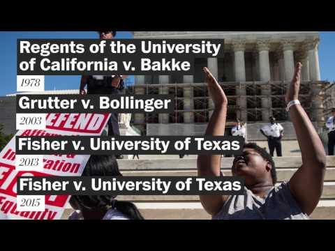 Affirmative action, by the numbers