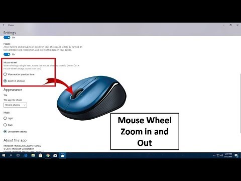 How To Enable Zoom In And Out With Mouse Wheel Windows 10 Hindi