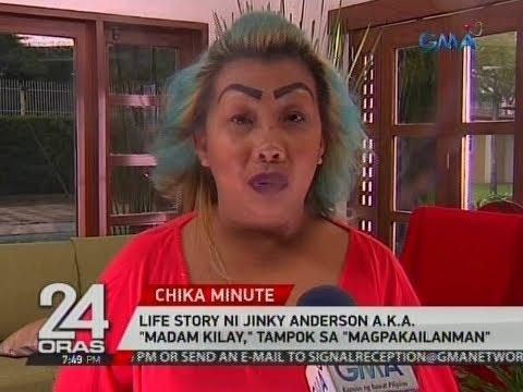 24 Oras: Life story ni Jinky Anderson a.k.a.