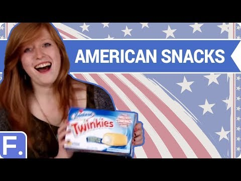 Irish People Try American Snacks (Food Taste Test)