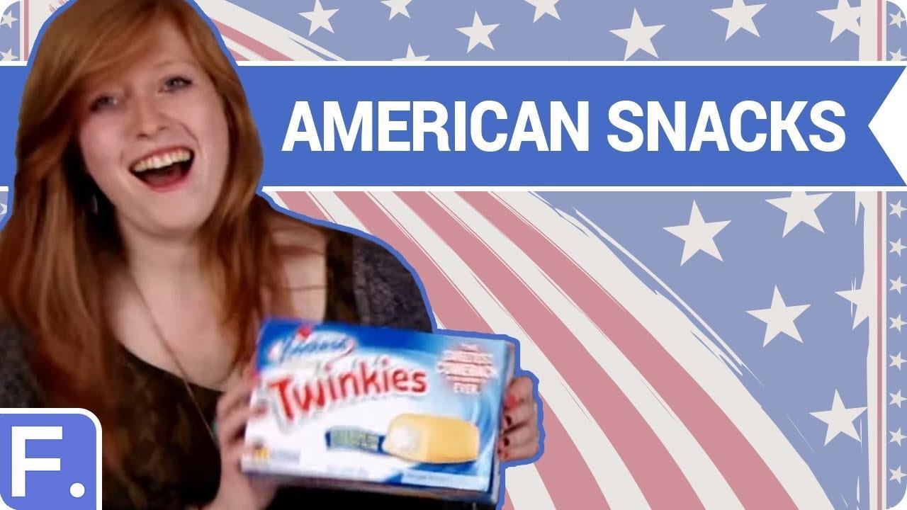 Irish people try american snacks youtube