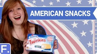 Repeat youtube video Irish People Try American Snacks