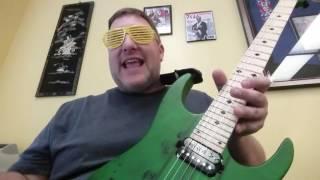 Aaron Wayne Duke's Allen Eden 1987 Guitar Demo