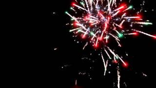 fireworks filmed with a dji phantom 3