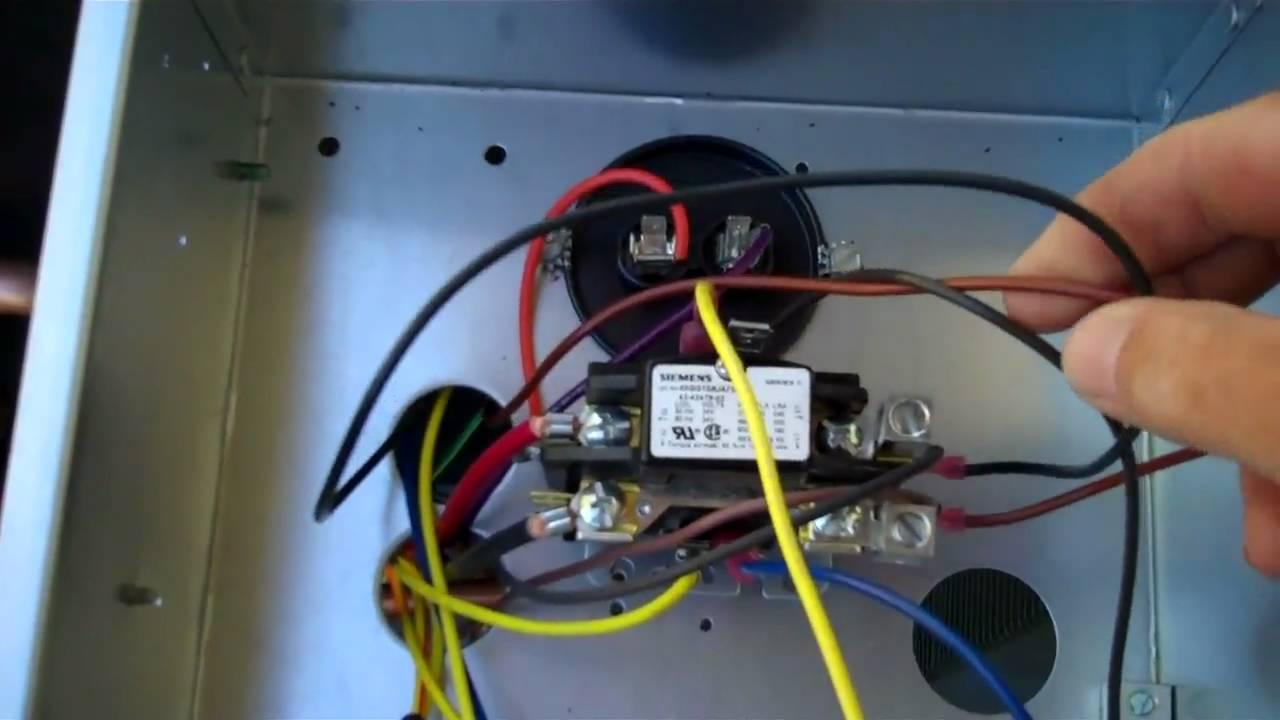 Rheem 145 seer 4ton condenser with a ECM condenser fan motor  YouTube