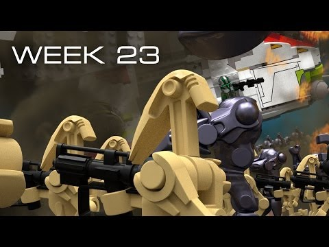 Building Kashyyyk in LEGO - Week 23: Time-Lapse