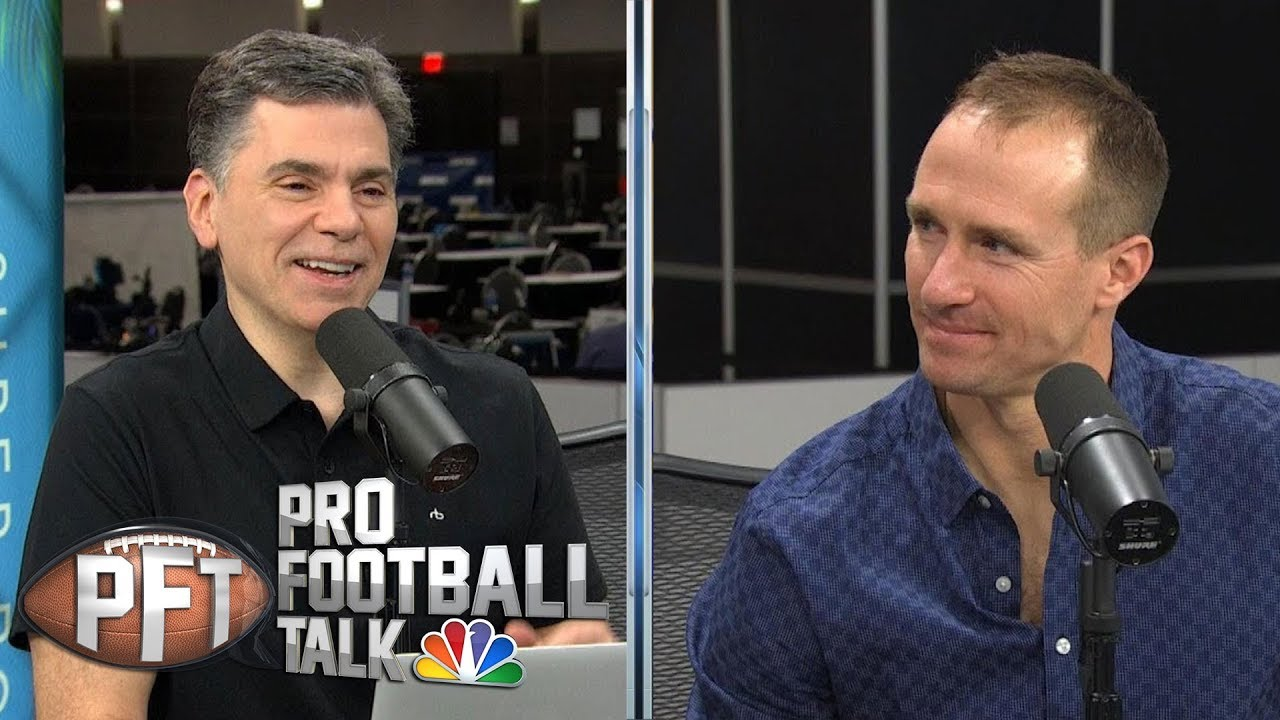 Drew Brees changed mindset after nearly retiring in '17 | Pro Football Talk | NBC Sports