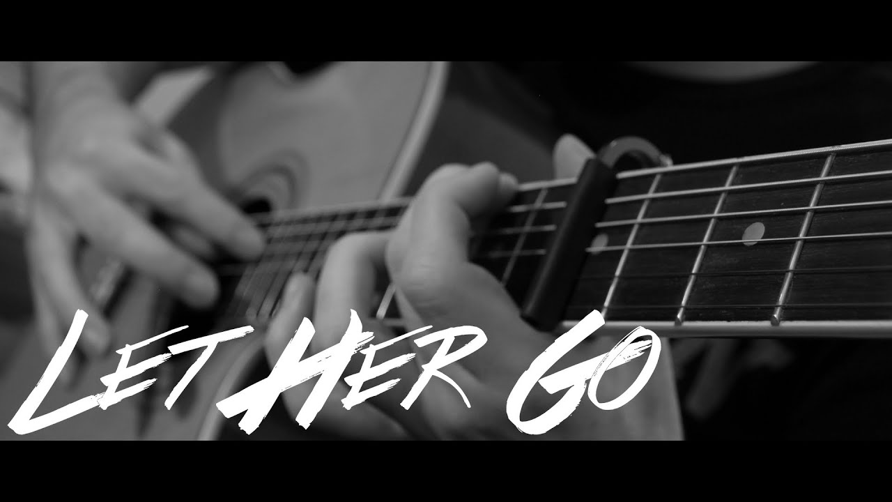 Passenger Let Her Go Fingerstyle Guitar Cover By Peter Gergely