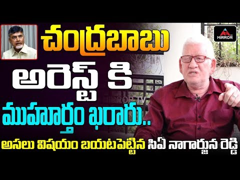 CA Auditor Nagarjuna Reddy Controversial Comments On Chandrababu Naidu | AP News | Mirror TV