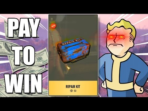 Fallout 76 goes PAY TO WIN?!?