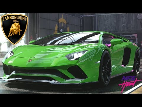 Need For Speed Heat - Lamborghini Aventador S - Customization, Review, Top Speed